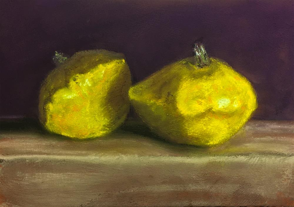 """Two Patty's"" original fine art by Cristine Kossow"