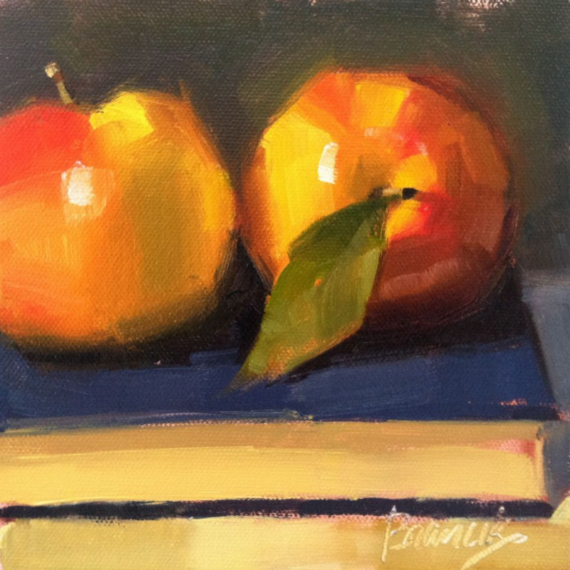 """Back To School"" original fine art by Candace Brancik"