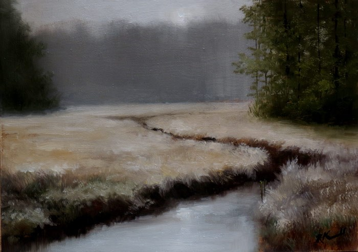 """The Marshes"" original fine art by Bob Kimball"