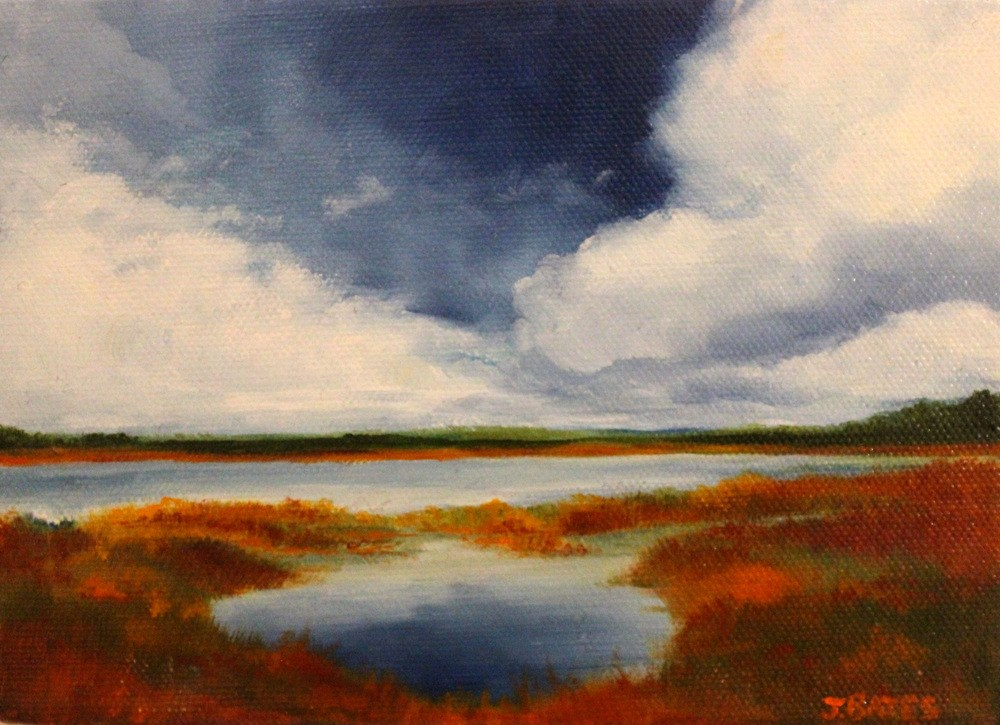 """Captured Sky"" original fine art by Jill Bates"
