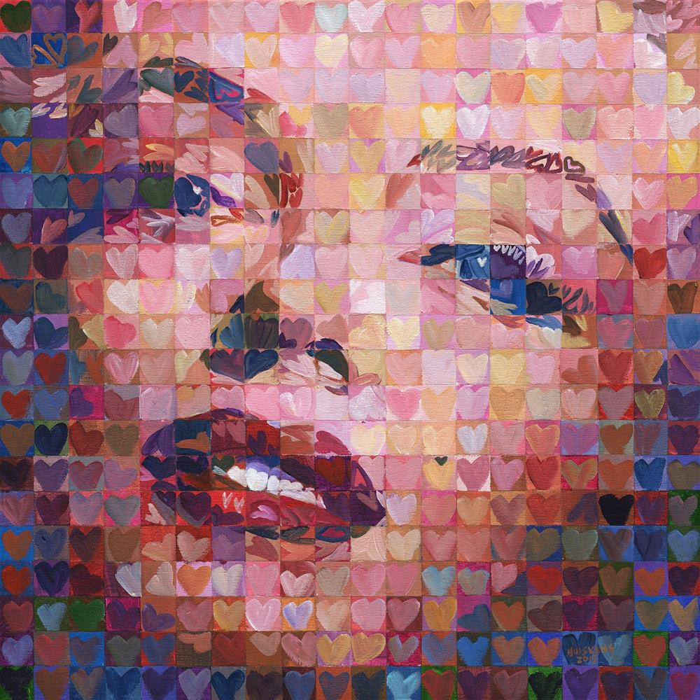 """I ♥ Marilyn #5"" original fine art by Randal Huiskens"