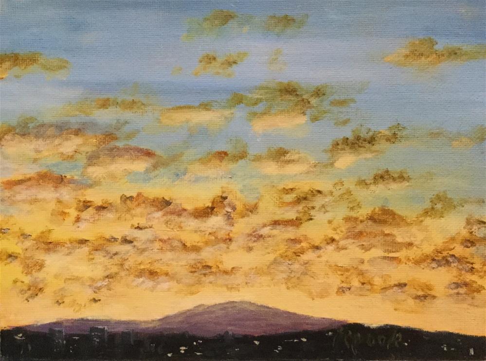 """Solstice Morning "" original fine art by T.C. Poole"