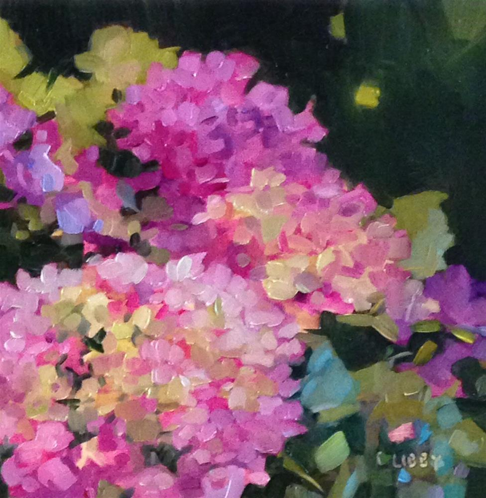 """Garden Dance"" original fine art by Libby Anderson"