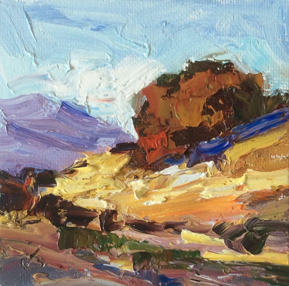 """""""CALIFORNIA LIVE OAK"""" original fine art by Tom Brown"""
