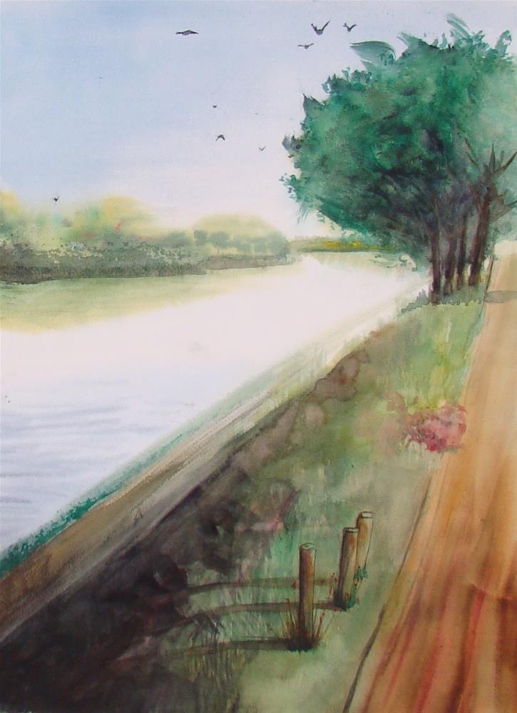 """""""Paris I"""" original fine art by Vito Cagnazzo"""