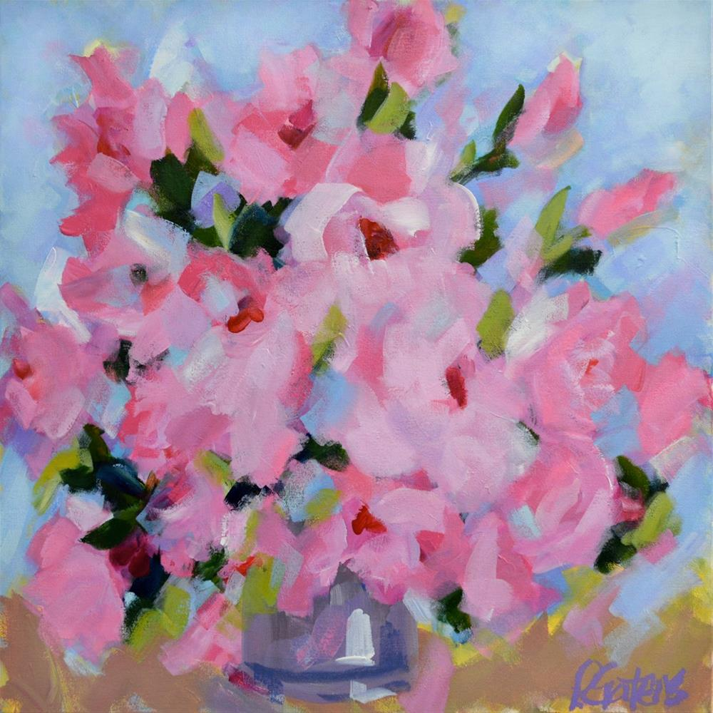 """Sweetheart Bouquet"" original fine art by Pamela Gatens"