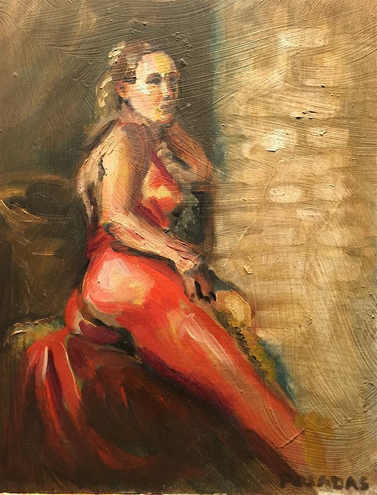 """""""Adrian"""" original fine art by Eduardo Posadas"""