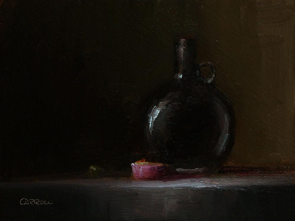 """Black Bottle - study"" original fine art by Neil Carroll"
