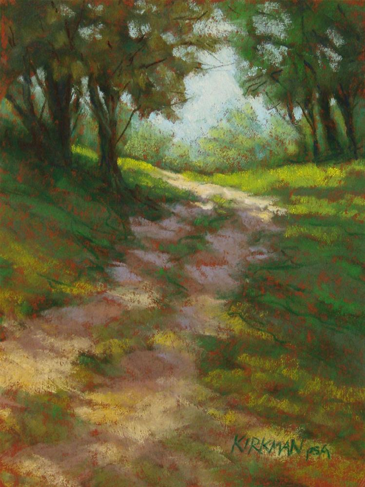 """Park Trail #12"" original fine art by Rita Kirkman"
