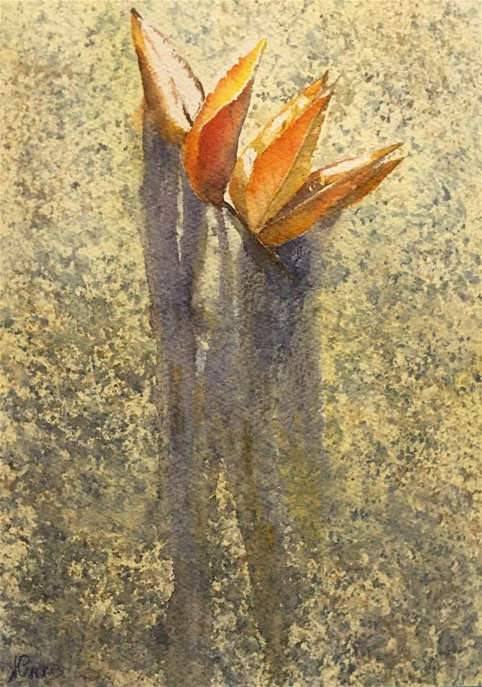 """Long shadows"" original fine art by Natasha Ramras"
