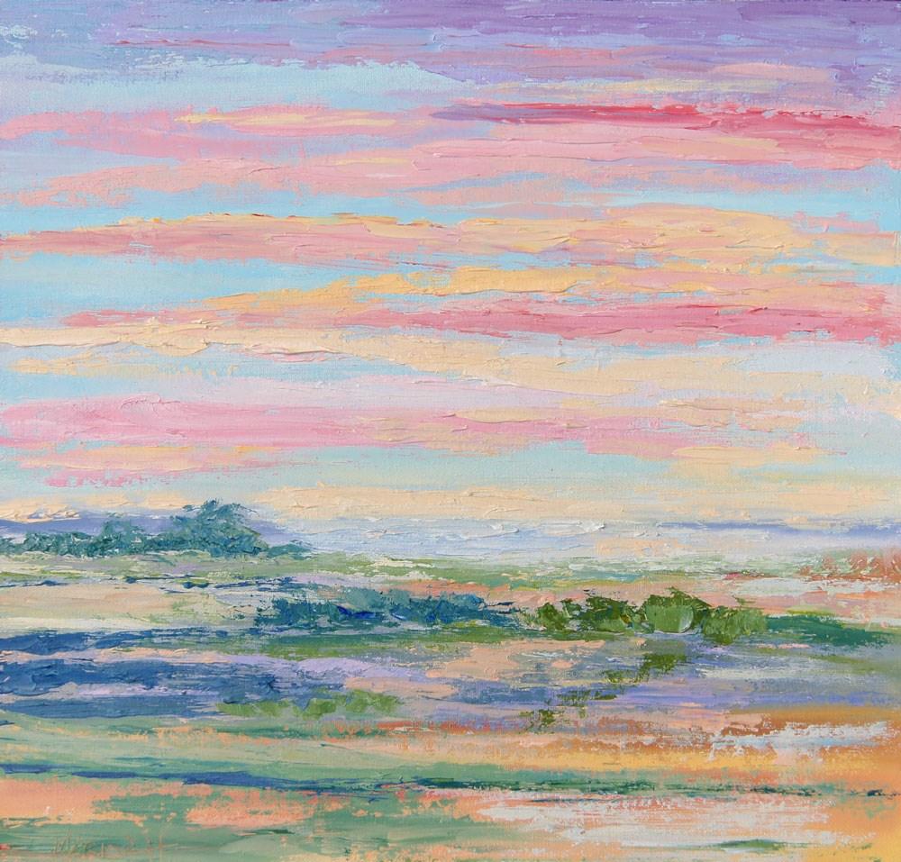 """Namibia Impressions 15  - Etosha"" original fine art by Marion Hedger"