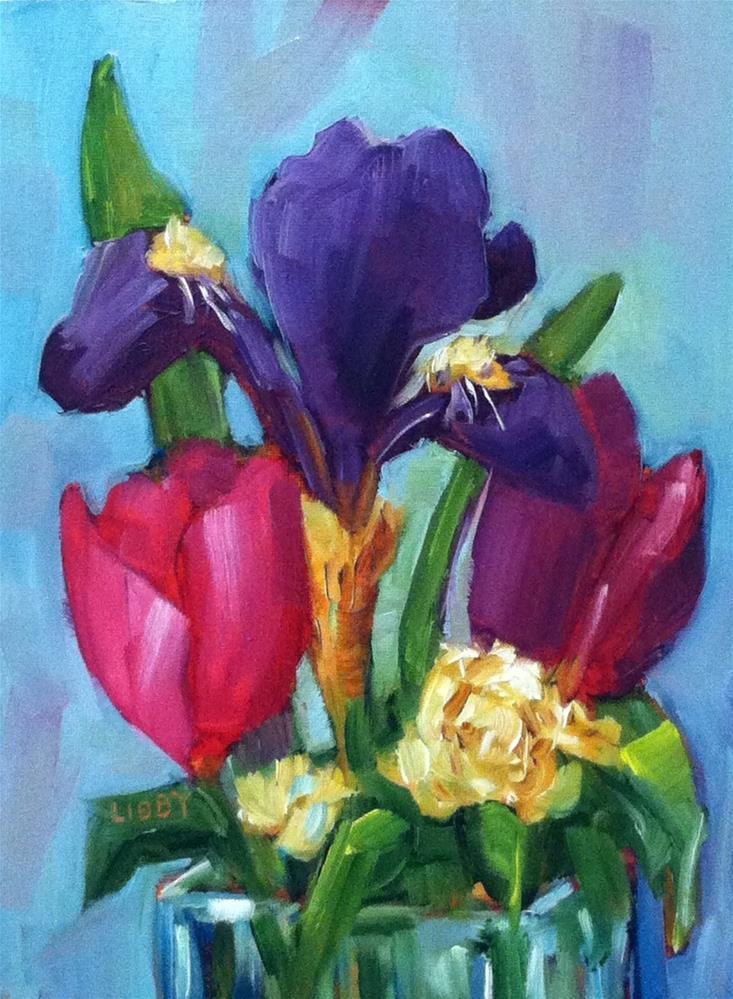 """April Show"" original fine art by Libby Anderson"