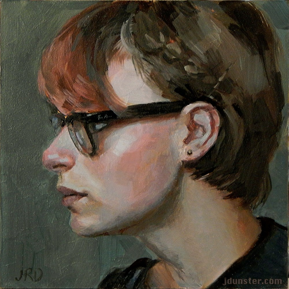 """Ray Bans"" original fine art by J. Dunster"