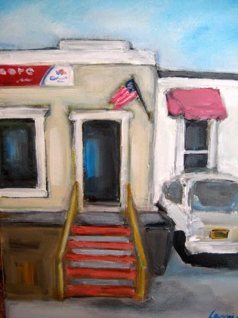 """""""Hardware store"""" original fine art by N. Lorraine"""