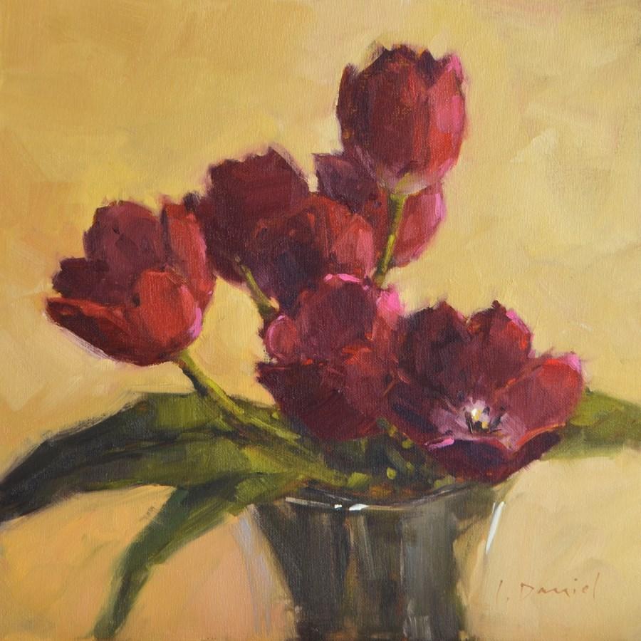 """Tulip Dance - Show Tip #3"" original fine art by Laurel Daniel"