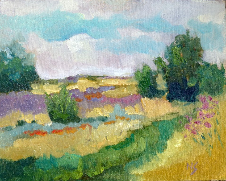 """River Legacy Park 14023"" original fine art by Nancy Standlee"