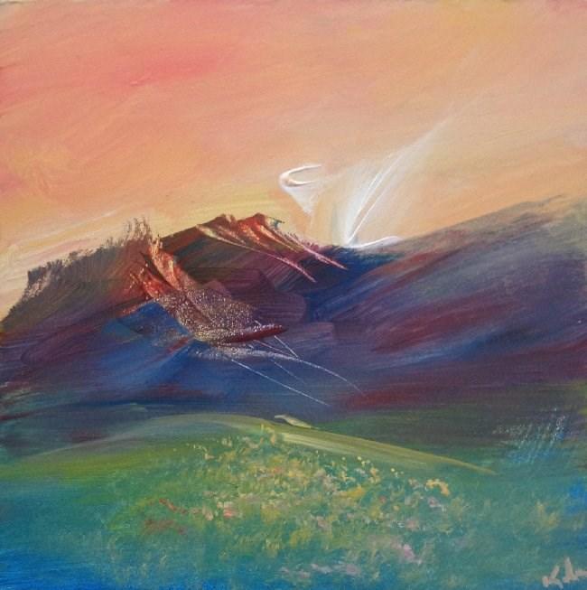 """Freedom Once Visited"" original fine art by David Kuhn"