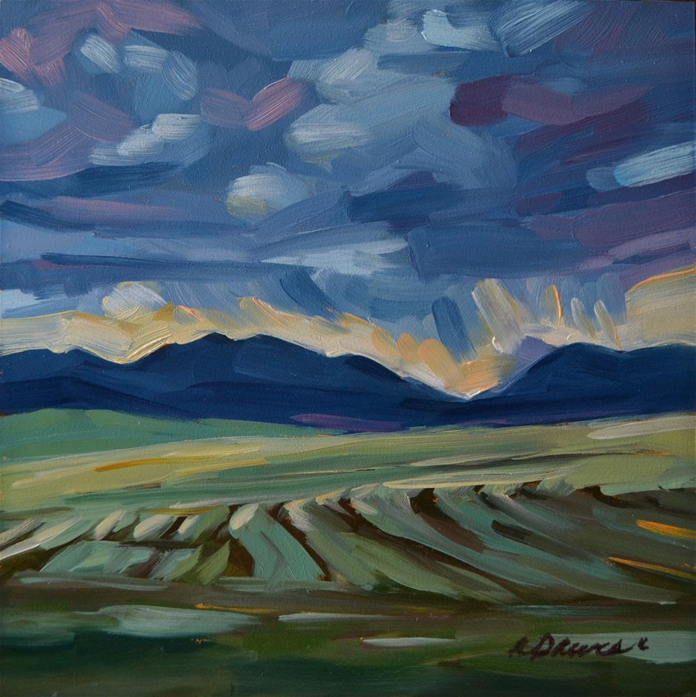 """Fleeting Vista"" original fine art by April Dawes"