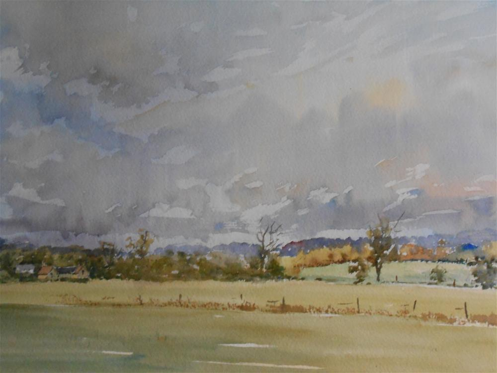 """Late morning sky"" original fine art by Graham Findlay"