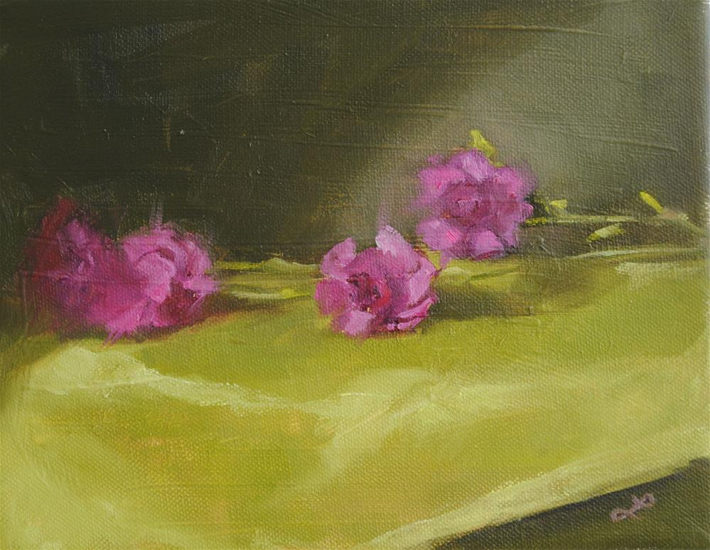 """Carnation study"" original fine art by Lori Jacobs - Farist"