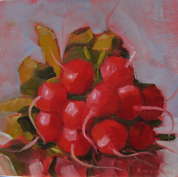 """Ravishing Radishes"" original fine art by Robin Rosenthal"