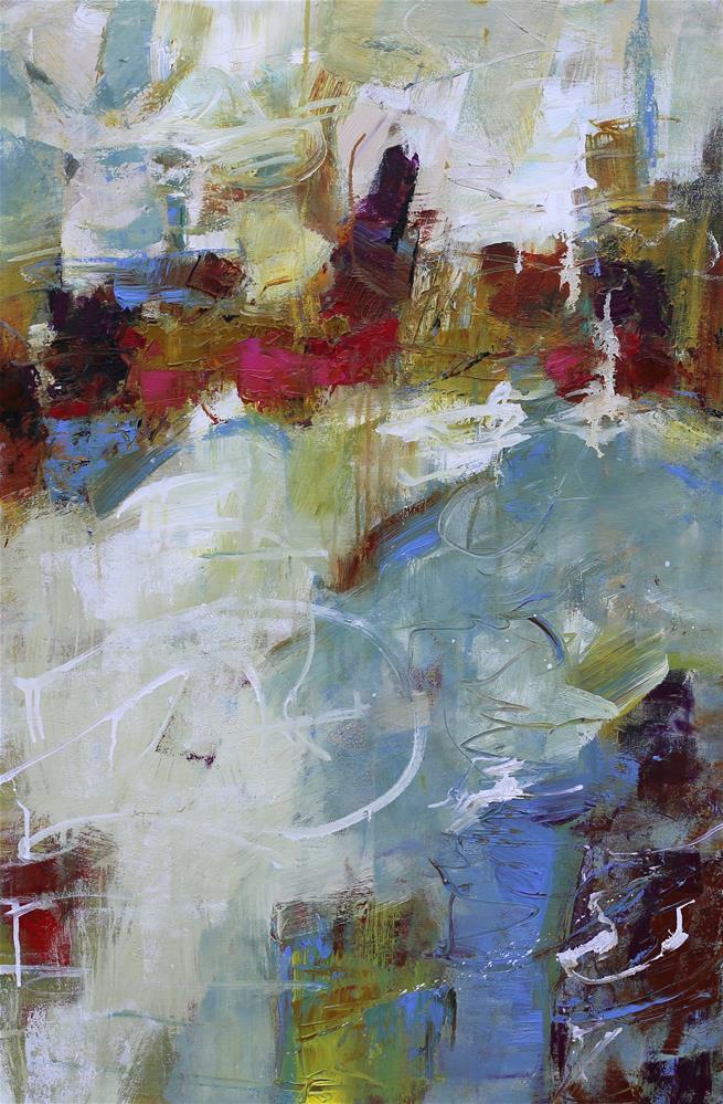 """""""Escapade"""" original fine art by Elizabeth Chapman"""