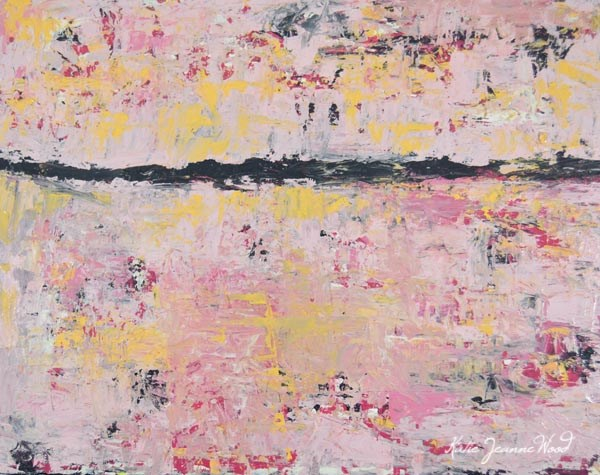 """Abstract No 82"" original fine art by Katie Jeanne Wood"