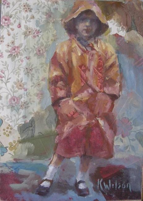 """""""No Puddles"""" original fine art by Katie Wilson"""