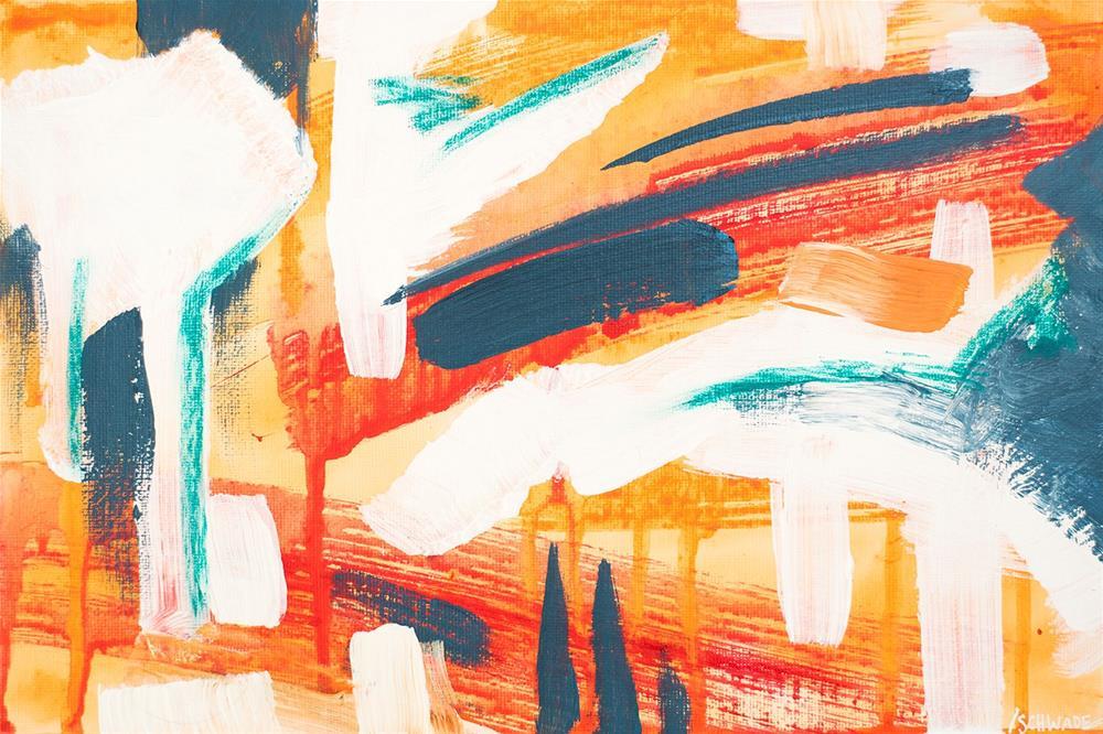 """Explosion"" original fine art by Franziska Schwade"