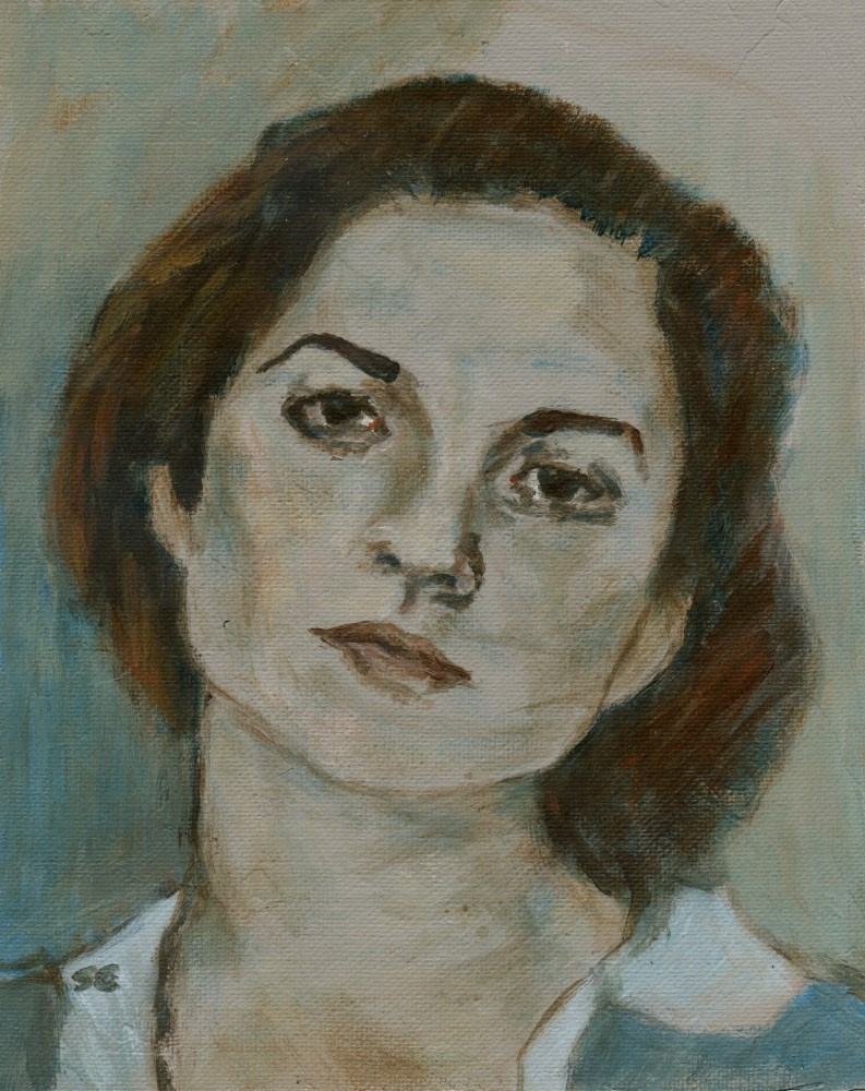 """Edith"" original fine art by Stanley Epperson"