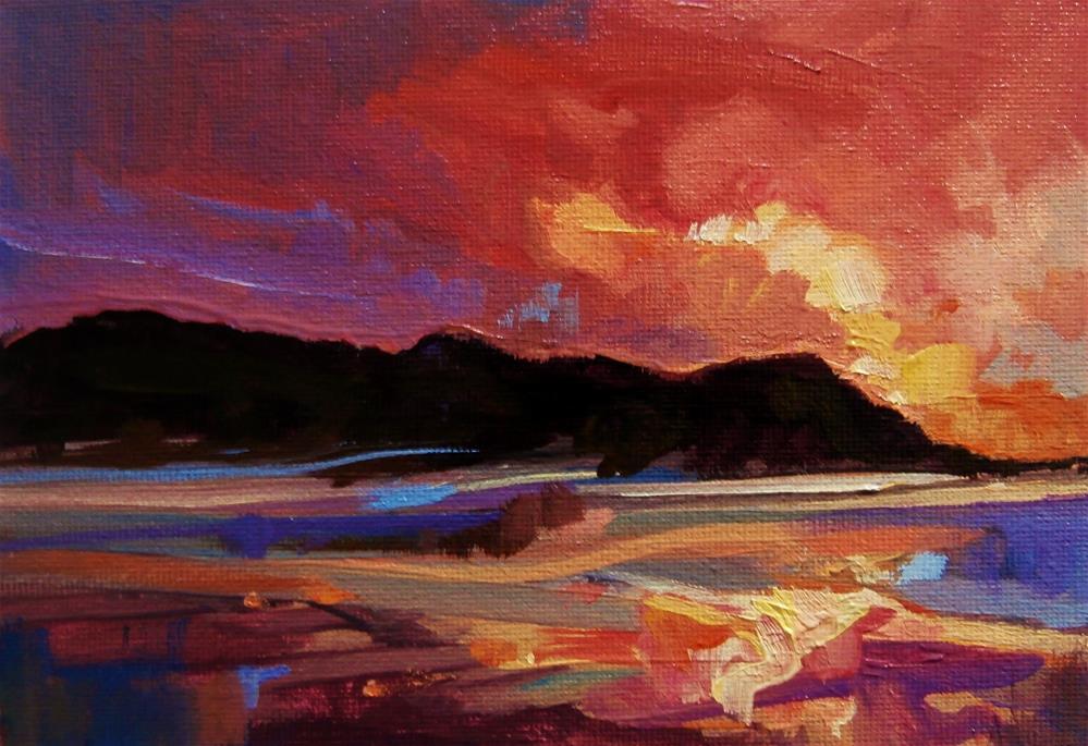 """""""Kaleidoscope"""" original fine art by Anne Wood"""