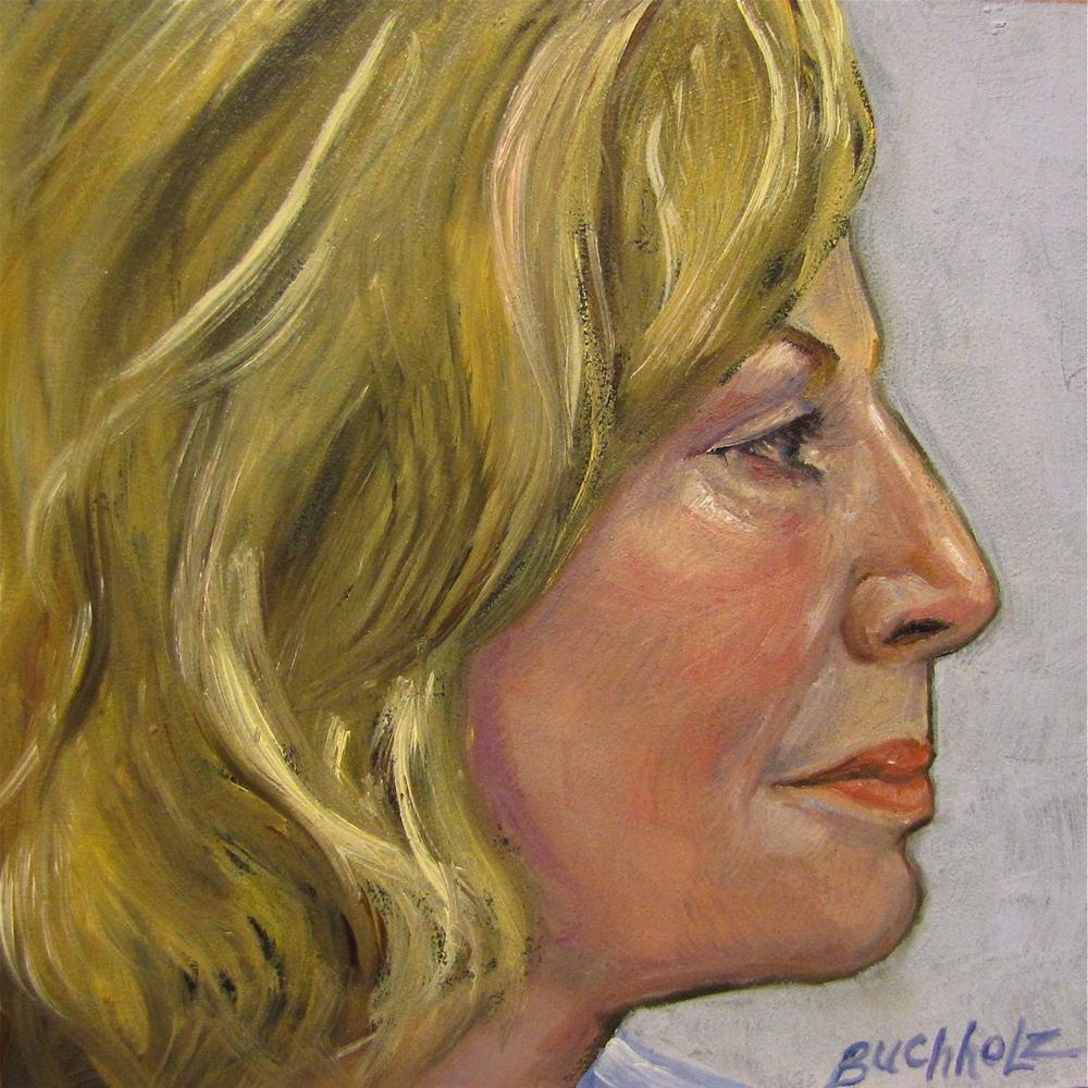 """Linda"" original fine art by Terri Buchholz"