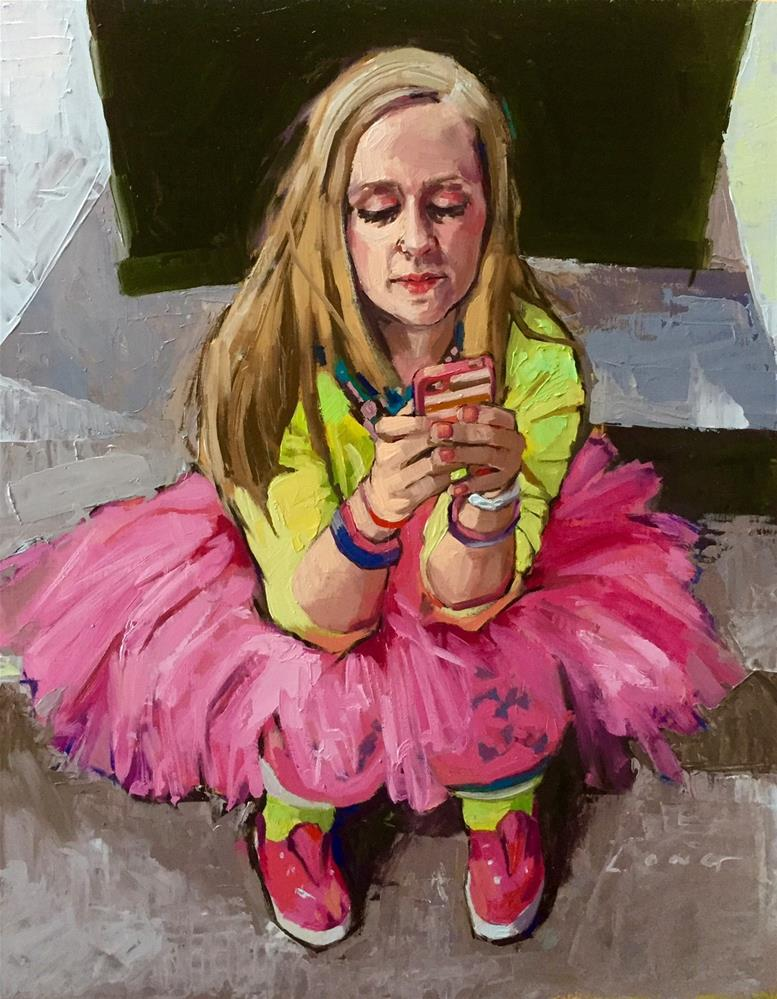 """""""Britt"""" original fine art by Chris Long"""