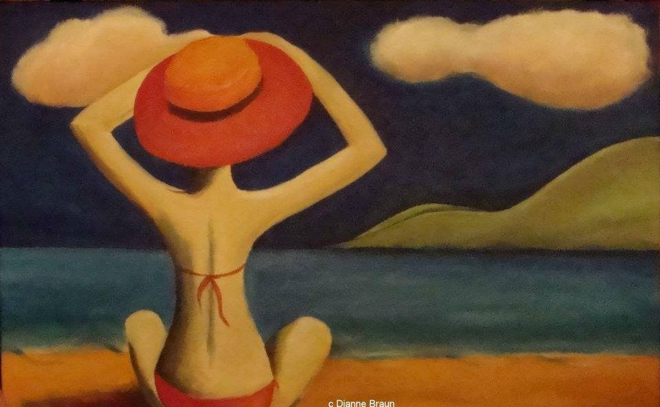"""Summer Remembered"" original fine art by Dianne  Braun"