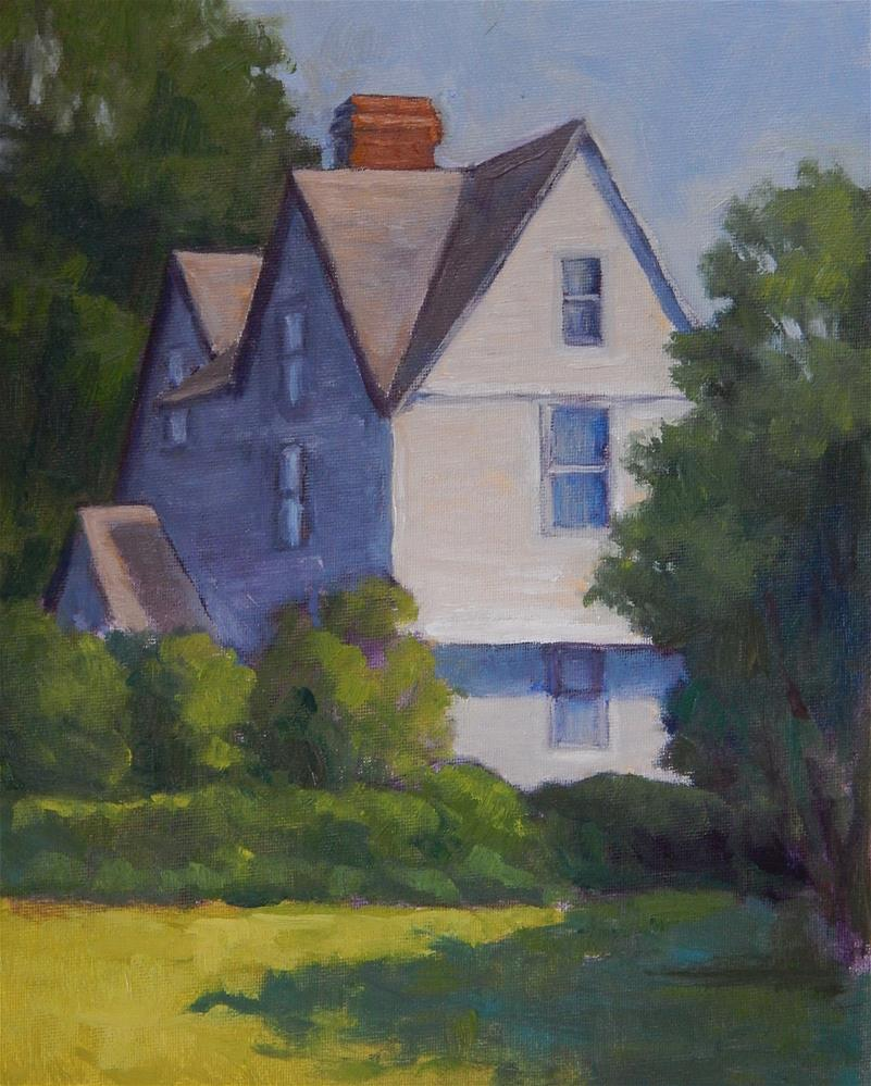 """House of Seven Gables"" original fine art by Lisa Kyle"