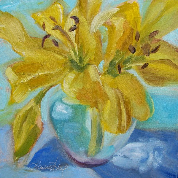 """Looking Forward to Spring 316"" original fine art by Laura  Buxo"