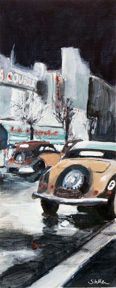 """""""2045 La Coupole"""" original fine art by Dietmar Stiller"""