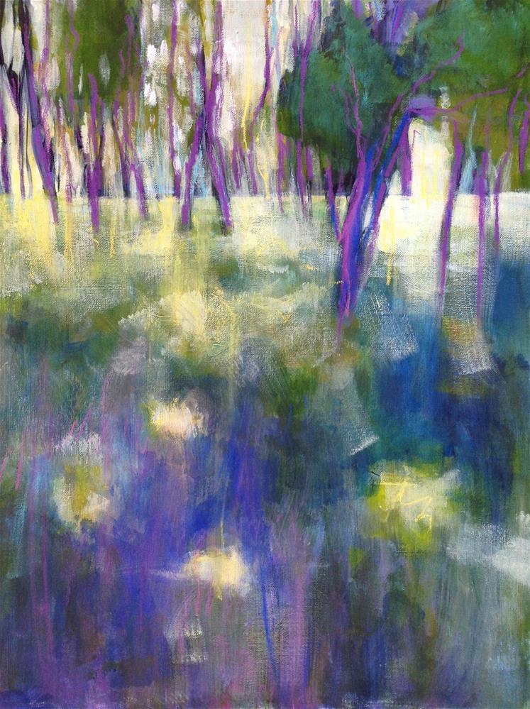 """Provence Meadow"" original fine art by Patricia MacDonald"