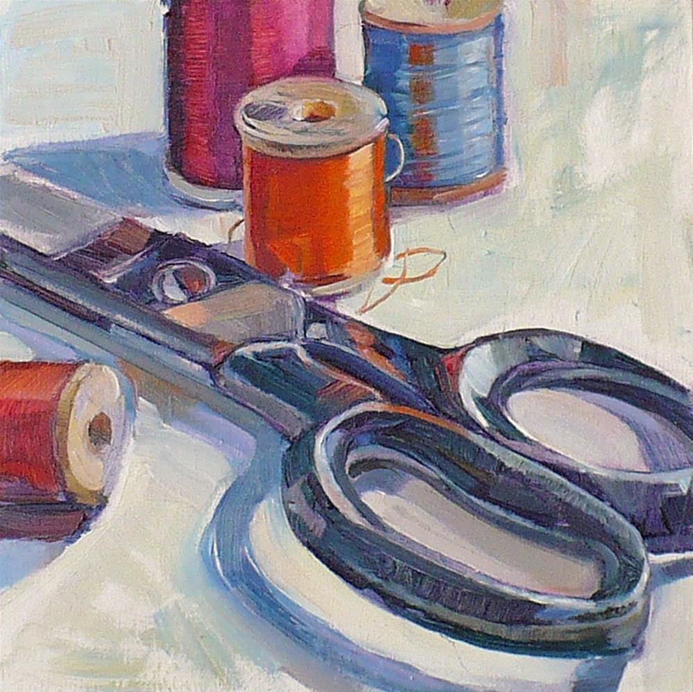 """""""Silk threads"""" original fine art by Nicoletta Baumeister"""