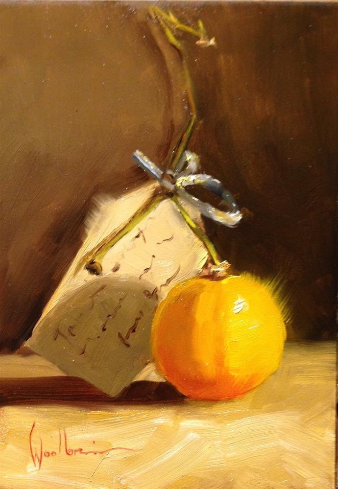 """Meyer Lemon"" original fine art by Dorothy Woolbright"