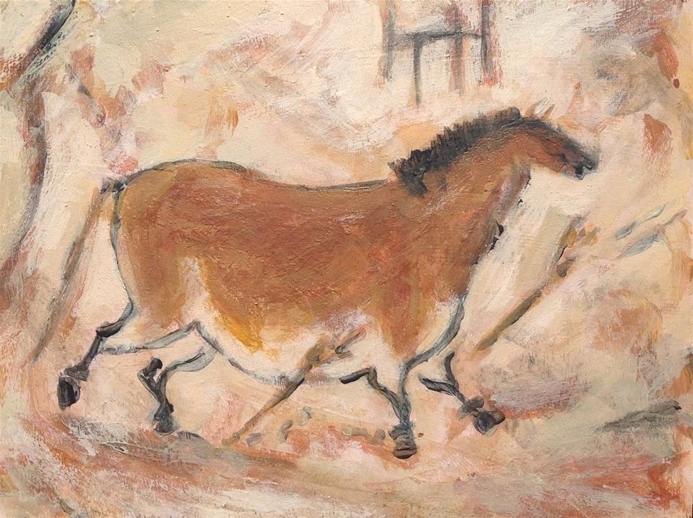 """Lascaux"" original fine art by Bruce Housey"