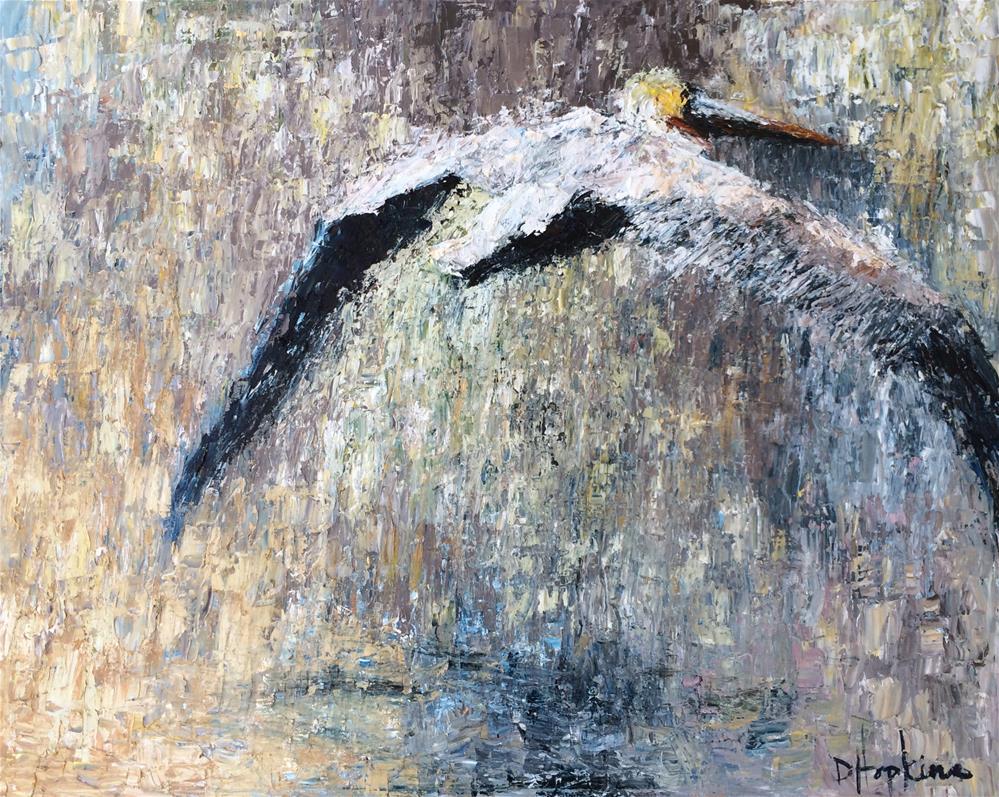 """Fight or Flight"" original fine art by Denise Hopkins"