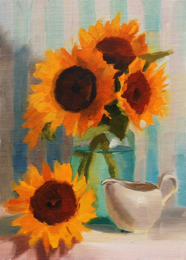 """Sun's Gift"" original fine art by Susan McManamen"