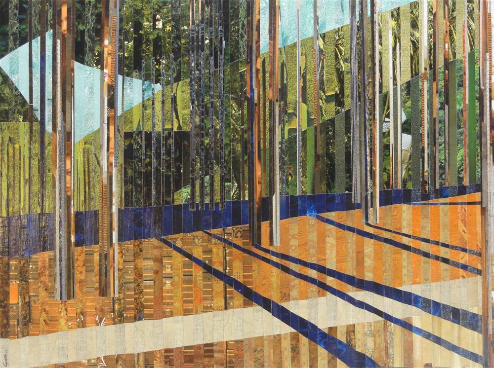 """In the Pines"" original fine art by Cynthia Frigon"