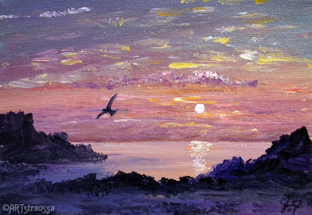 """Coombe Haven (Charity)"" original fine art by Gloria Ester"