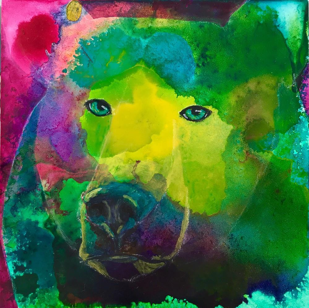 """#29 Steadfast"" original fine art by Silke Powers"