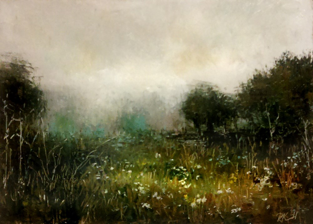 """Wildflowers"" original fine art by Bob Kimball"