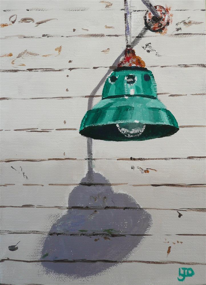 """""""Light Shadow"""" original fine art by Leanne Owen"""