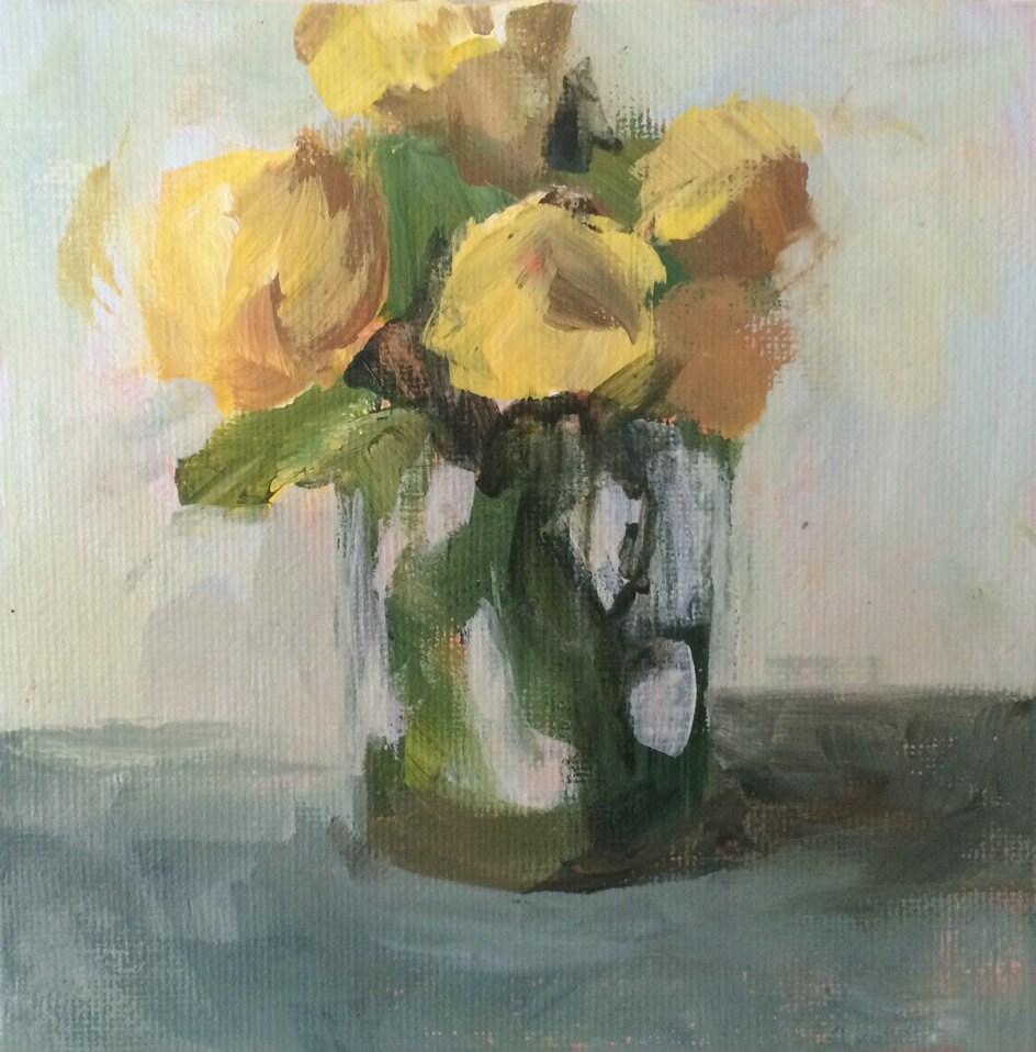 """Something Bright"" original fine art by Shannon Bauer"