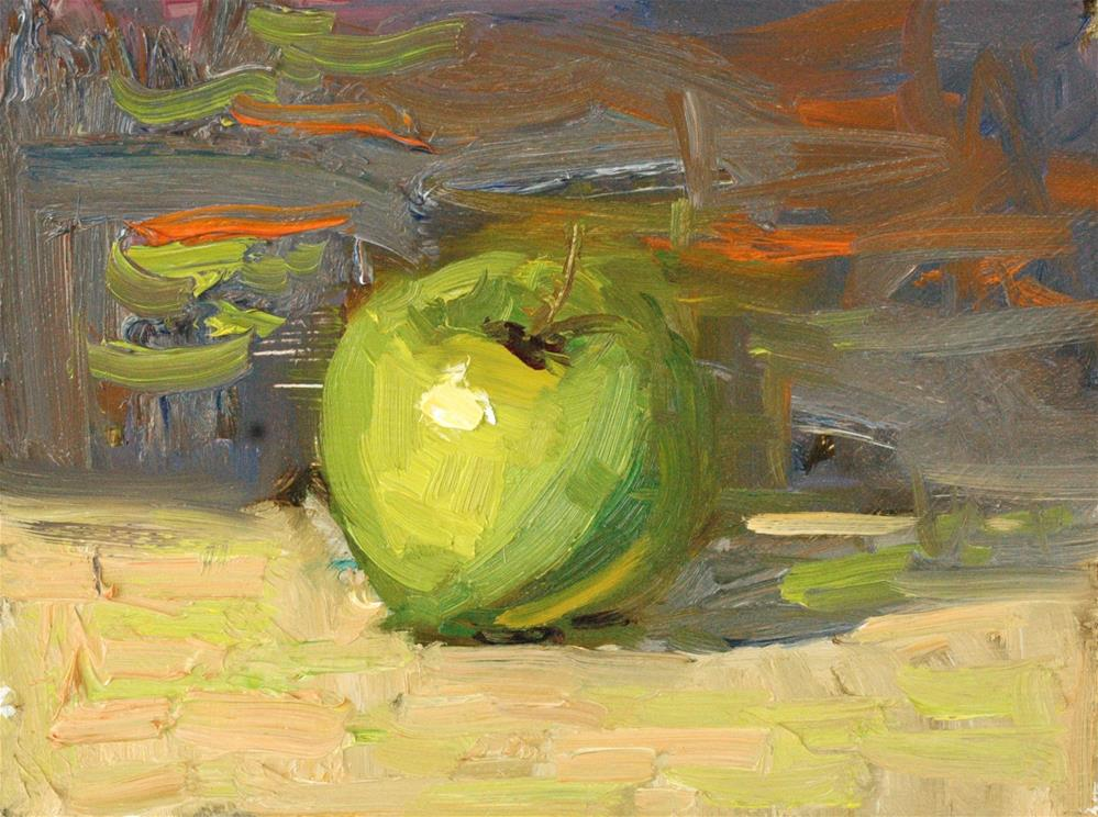 """Apple Study"" original fine art by Michael Clark"